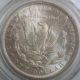 Morgan Dollar Reverse